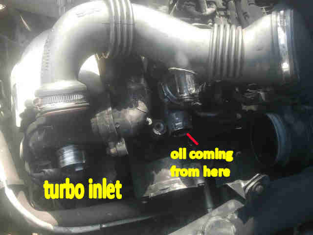 Smoking Turbo - C5 1 6 Hdi (2005) - Problems and Fixes - C5