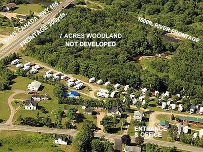 Campground for sale in Nova Scotia Canada