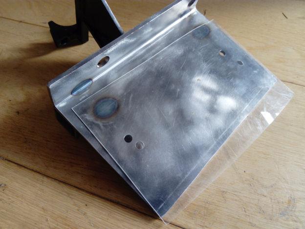 plastic sheet reducing slider friction